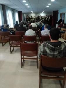 coro de la once 2014 - hogar de sor eusebia