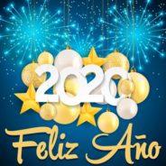 ¡¡¡ FELIZ y PRÓSPERO AÑO 2020 !!!